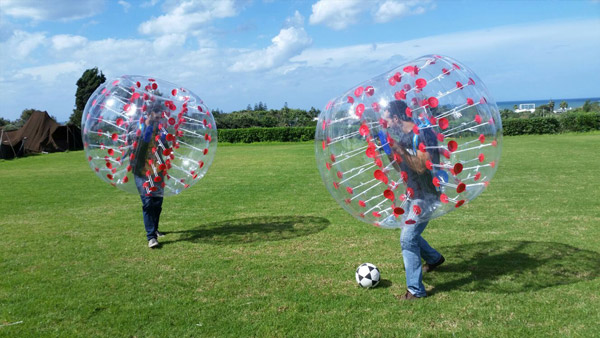 Bubble Soccer kaufen Unser Kunde 5