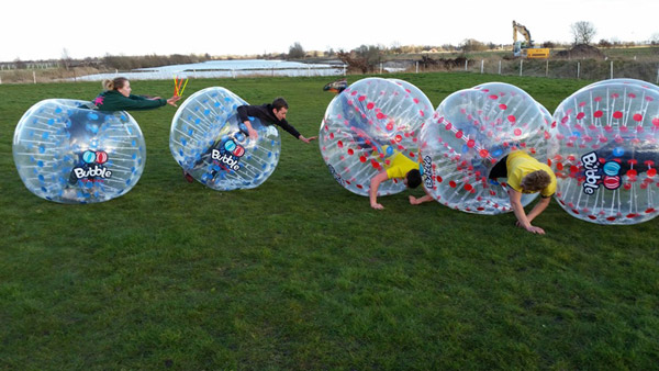 Bubble Soccer kaufen Unser Kunde 7