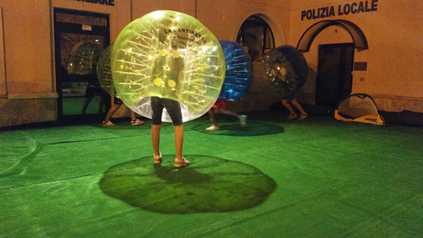Bubble Soccer kaufen Unser Kunde 1